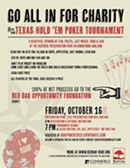 Texas Hold 'Em Poker Tournament for East Bay Charity