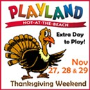 Thanksgiving Weekend at Playland-Not-at-the-Beach