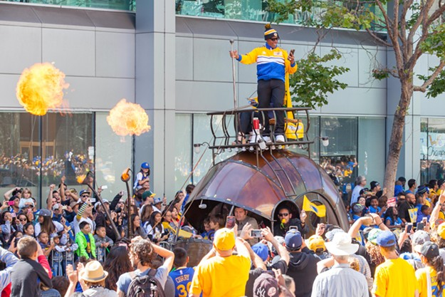2015 Golden State Warriors Championship Parade
