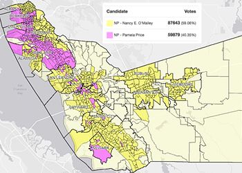 Election Results in Alameda County District Attorney's Race Reveal a Stark Divide