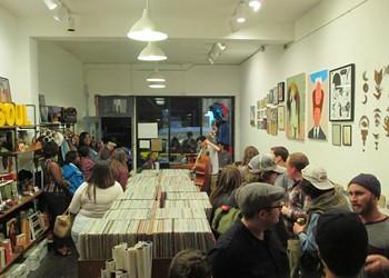 VAMP Record Shop in Oakland Celebrates Fourth Anniversary