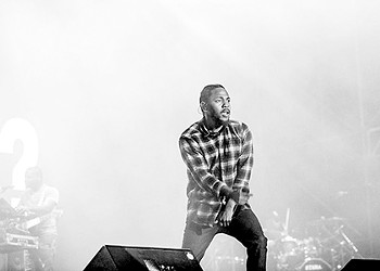 Kendrick Lamar at Oracle Arena in Oakland