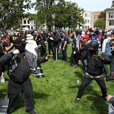 Berkeley Brawls on 'Tax Day'