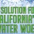 A Solution for California's Water Woes