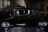 Sherwan Haji, Simon Hussein Al-Bazoon, and Sakari Kuosmanen make a getaway in The Other Side of Hope.