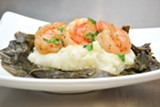 SHRIMP AND GRITS ARE ON THE MENU. - Photo courtesy of Ralph Bunche Academy