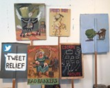 "M. Louise Stanley's ""One Dozen Protest Signs"""