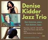 Denise Kidder, Ben Stolorow & Ron Belcher at The Terrace Room - Uploaded by Denise Kidder