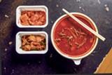 PHOTO BY LANCE YAMAMOTO - Photo by Lance Yamamoto - The spicy beef stew features tender shredded beef brisket.