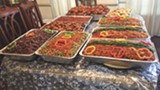 PHOTO BY @ CREATIVE CATERING - Lots and lots of jollof rice.