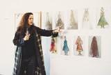 PHOTOS BY ZHANARA BAISALOVA - Designer Oana Botez shared her vision.