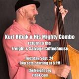 Kurt Ribak & His Mighty Combo at Freight & Salvage - Uploaded by steveindig