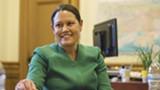 D. ROSS CAMERON - Outgoing Oakland City Manager Sabrina Landreth.