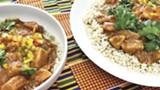 Taste the food of Senegal.
