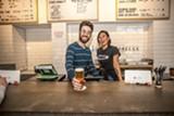 Nico Simonian and Cat Garcia of Oakland's Temescal Brewing.