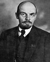 """""""I can't listen to music too often,"""" Lenin said. """"It affects your nerves, makes you want to say stupid, nice things."""""""