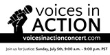 Voices in Action, Sunday, July 5, 9 am to 9 pm PT - Uploaded by Nancy Tubbs, FullCalendar