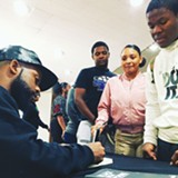 FOR THE CULTURE:  The Black Literacy Collective held a forum for Lynwood School District that attracted and encouraged aspiring writers.