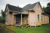 PINK HOUSE: Mossville's abandoned homes invoke both melancholy and the sublime.