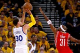 Curry broke the NBA record for threes this year in both the regular season and the playoffs.