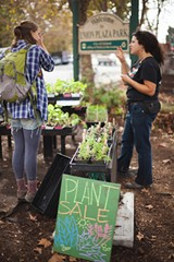SCOTT RUSSELL - City Slicker Farms' sliding-scale farm stand.