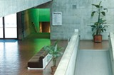 COURTESY OF BAM/PFA - For years, BAM/PFA's stairwell glowed green.