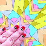COURTESY OF SF PARTY NAILS - Taylor Watson first started painting nails at bars in late 2011.