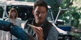 Chris Pratt stars in Jurassic World.