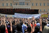 WIKIMEDIA COMMONS - Greeks have been protesting forced austerity measures for years.