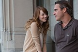 Emma Stone and Joaquin Phoenix star in Irrational Man.