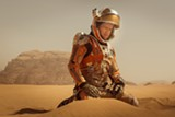 Matt Damon stars in The Martian.