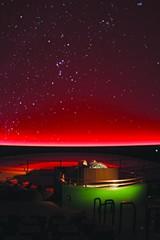 The planetarium at Chabot.