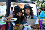 COURTESY YOUTH SPEAKS - Artists at last year's Life is Living.