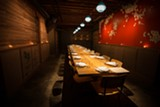 Comal's private dining room.
