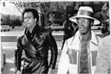Huey Newton (L) and Bill X Jennings in 1971.