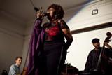 ERIN BALDASSARI - Faye Carol sang during a fundraising benefit last week at Geoffrey's Inner Circle.