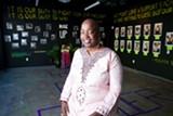 Omi Gallery curator Ashara Ekundayo.