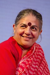 AUGUSTUS BINU - Vandana Shiva.