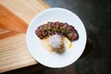 BERT JOHNSON - The beef tataki is made with American-style wagyu beef.