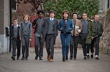 The cast of Sing Street.