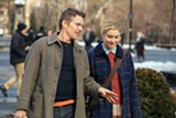 Ethan Hawke (left) and Greta Gerwig (right) in Maggie's Plan.