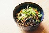 STEPHEN LOEWINSOHN - The nanban zuke is a refreshing cold ramen dish.