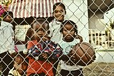 """COURTESY OAKLAND FENCE PROJECT - Photos by Brittani """"Brittsense"""" Sensabaugh are among the featured fence works."""