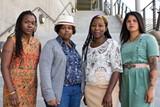 ROXANNE PASIBE - L to R: Andrea Unsworth, Amber Senter, Sunshine Lencho, Nina Parks