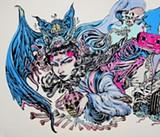 Work by 4%ers - artist Lauren YS.