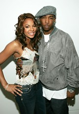 EVAN AGOSTINI/GETTY IMAGES - Ja Rule & Ashanti.