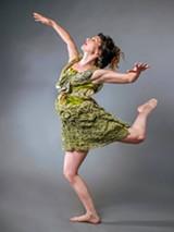 TUE NAM TON - Dancer Anna Greenberg in costume.
