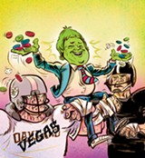 "ILLUSTRATION BY JASON CROSBY - Raiders owner Mark Davis said he needs to find the team a ""real home,"" and that's why he's looking to Las Vegas. Bah humbug! Jason Crosby"
