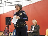 PHOTO BY DARWIN BONDGRAHAM - Kirkpatrick said OPD didn't violate Oakland's sanctuary city law.