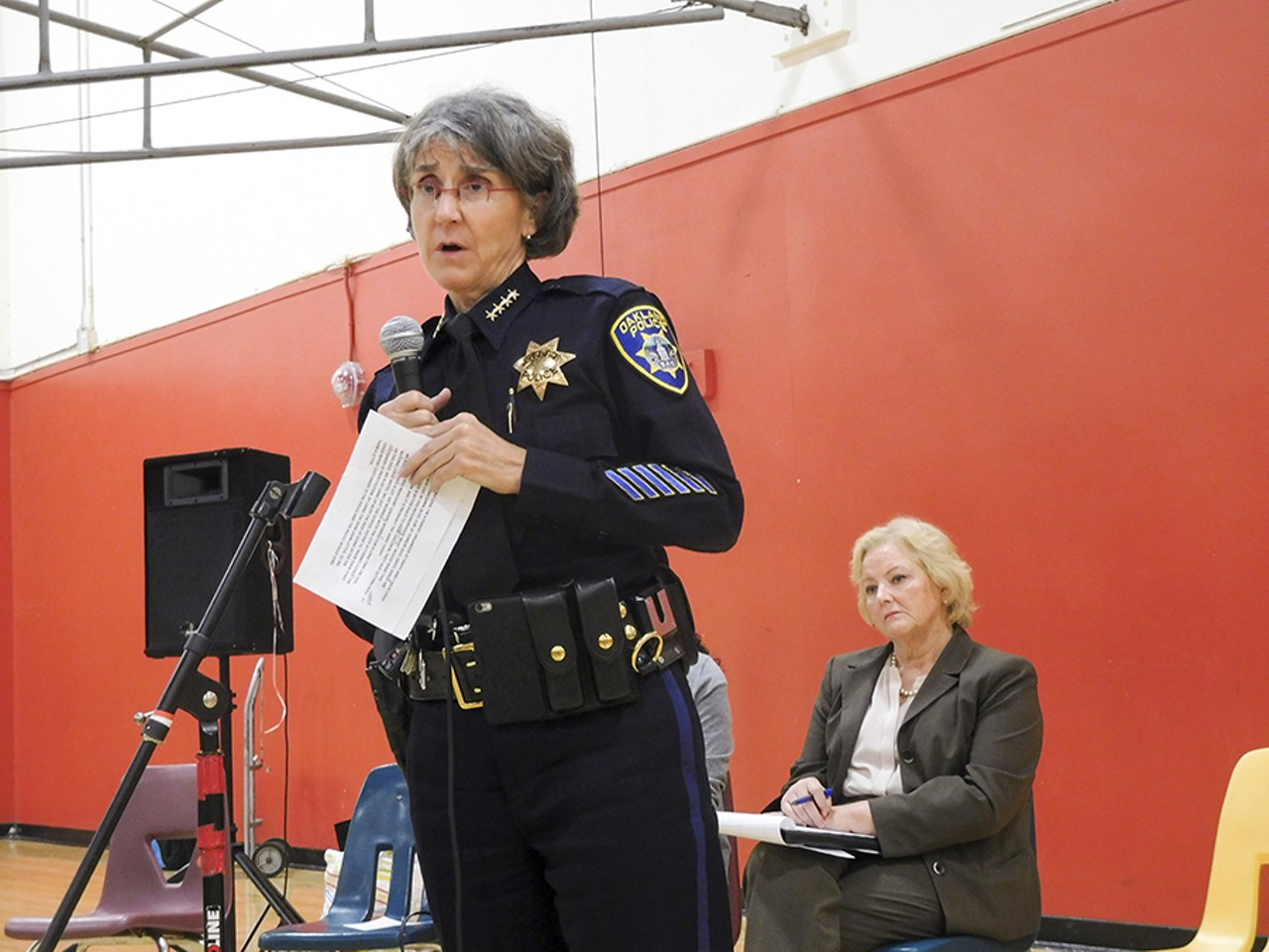Oakland Police Chief Made False Statements About ICE Raid | East Bay